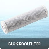 Blok koolfilter 10 inch
