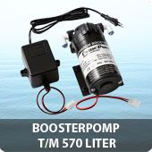 Boosterpomp voor toestellen t/m 150 GPD