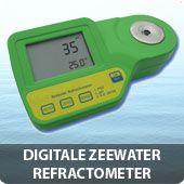 Digitale zeewater refractometer
