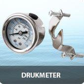 Drukmeter voor osmoseapparaat