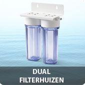 Dual filterhuizen