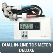 Dual In-line TDS meter Deluxe