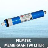 Filmtec TW30-1812-50 RO membraan 190 ltr