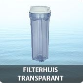 Filterhuis transparant