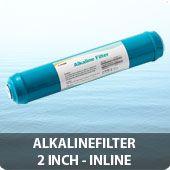Inline alkaline filter 2 inch