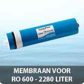 Membraan voor RO 600 - 2280 Liter