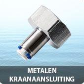 Metalen kraanaansluiting 3/4 inch