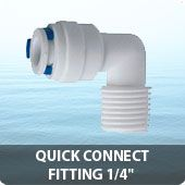 """Quick connect fitting 1/4"""""""