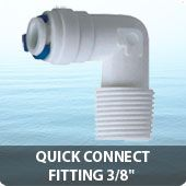 """Quick connect fitting 3/8"""""""