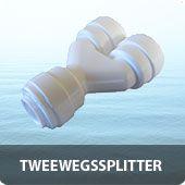 "osmose Tweewegs splitter 1/4"""